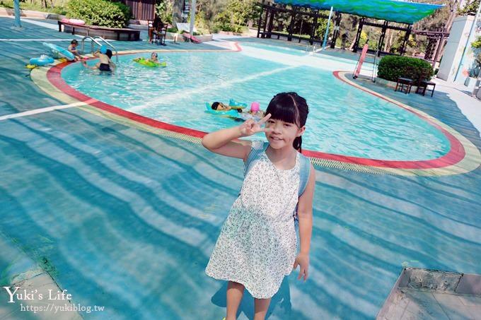 台中景點【大安濱海旅客服務中心】免費玩水游泳池!沙灘戲水親子好去處!