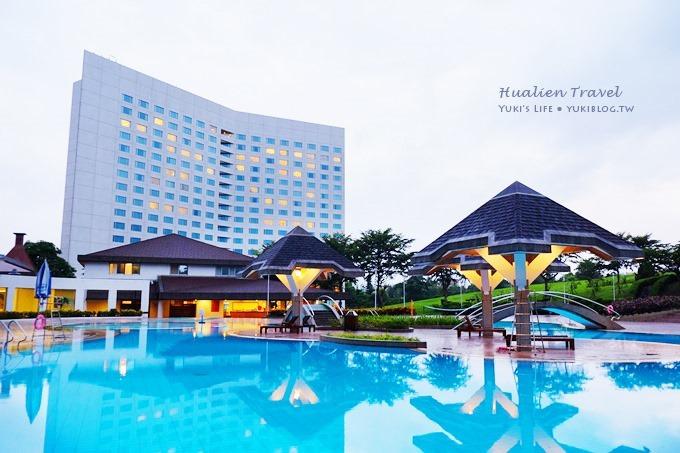 花蓮親子自由行〈花蓮美侖大飯店Parkview Hotel〉渡假去! (上)房間寬敞‧室外游泳池夜景‧商店街