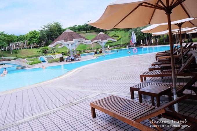 花蓮親子自由行〈花蓮美侖大飯店Parkview Hotel〉渡假去! (上)房間寬敞‧室外游泳池夜景‧商店街 - yukiblog.tw