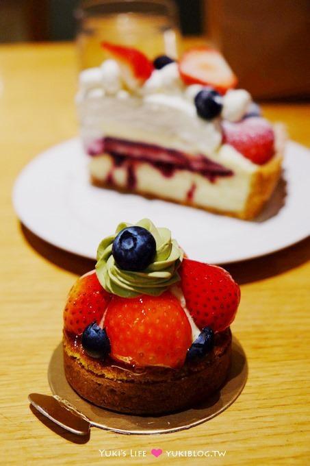 台北車站美食【艾莉兒甜品盒】滿滿草莓的夢幻蛋糕×草莓派×藍莓塔 @京站B3 - yukiblog.tw