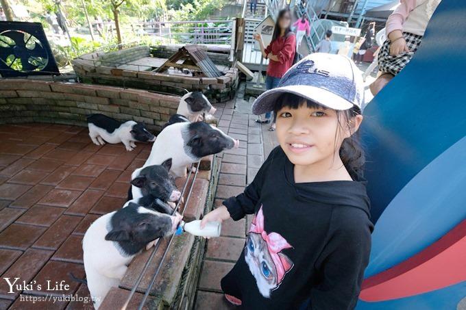 宜蘭景點《宜農牧場》30元銅板價×兒童遊戲區~餵羊餵小豬休閒農場親子必訪! - yukiblog.tw