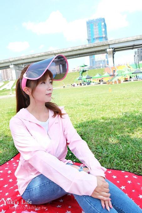 夏天必備防曬好物【UV100】抗UV涼感透氣連帽外套×抗UV防曬美容面罩帽 - yukiblog.tw