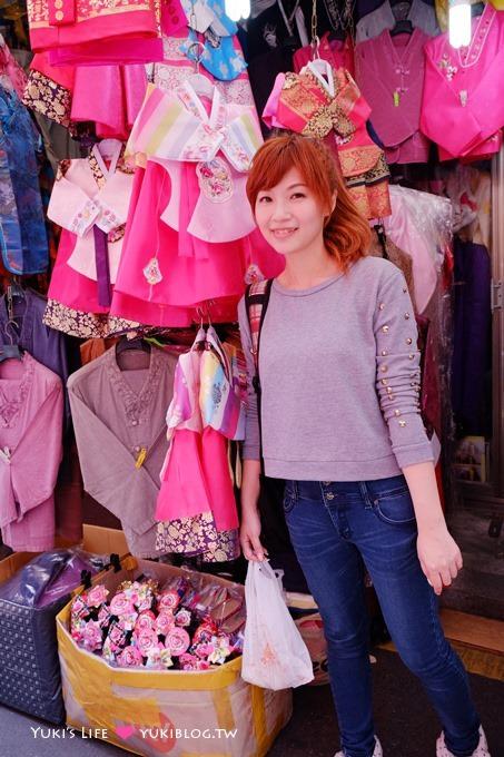 韓國首爾美食【南大門市場】卡梅谷傳統手工包子&mama商場童裝~尋寶好地方 @會賢站 - yukiblog.tw