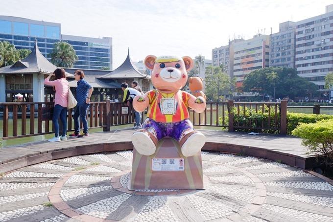台中泰迪熊展【2015樂活熊城市嘉年華】台中公園(2015/12/12~2016/1/14) - yukiblog.tw