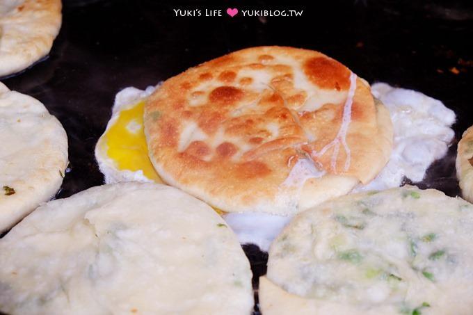 宜蘭三星美食【阿婆蔥油餅】清淡口味~香酥的蔥餅小吃 @味珍香卜肉店對面