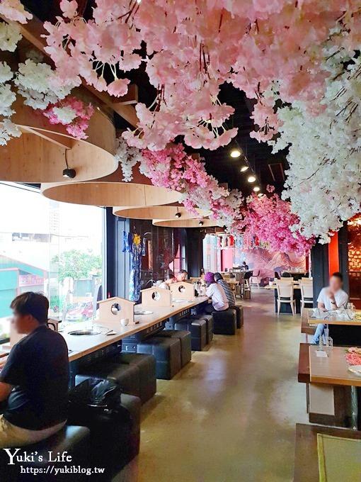 台中美食【山鯨燒肉】台中燒烤店推薦x親子免費穿和服×櫻花美景就像秒飛日本~ - yukiblog.tw