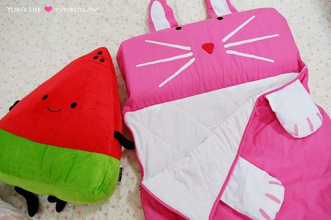 育兒好物【幼稚園動物造型薄款睡袋】就是要可愛!適合夏季或容易流汗的孩子~ - yukiblog.tw