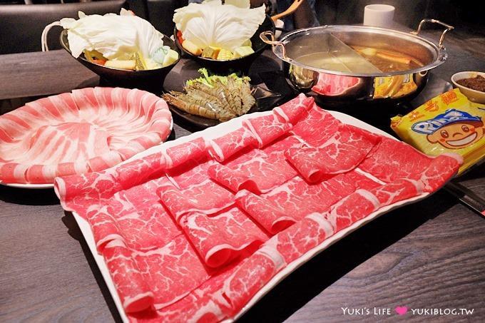 台北【方圓涮涮屋/撫順店】肉肉很多CP值高火鍋、開幕送蝦子@民權西路站 - yukiblog.tw