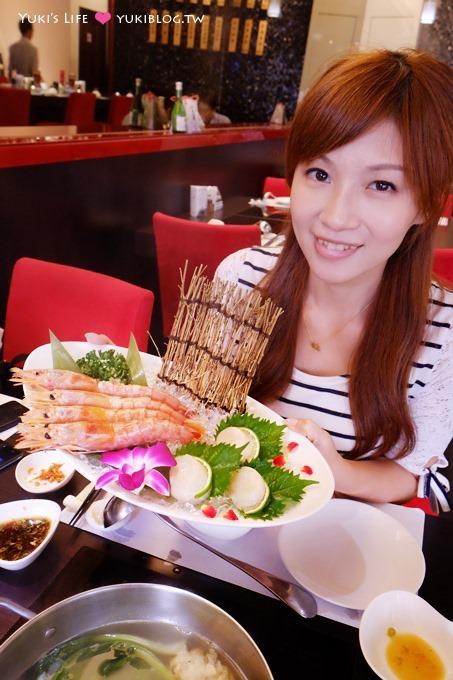 台北內湖食記【鼎膾一品涮涮鍋】好威的精緻高檔食材火鍋! 天使大紅蝦、北海道生食級干貝、極黑牛小排