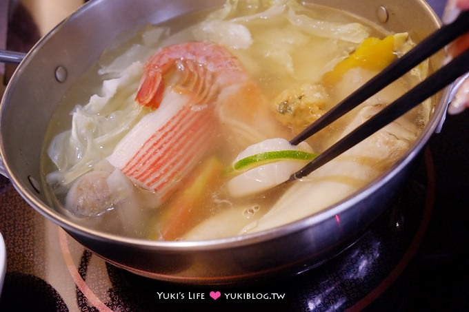 台北內湖食記【鼎膾一品涮涮鍋】好威的精緻高檔食材火鍋! 天使大紅蝦、北海道生食級干貝、極黑牛小排 - yukiblog.tw
