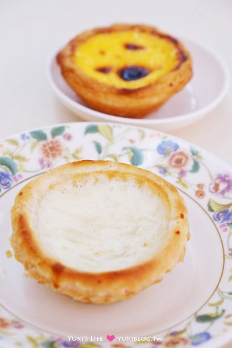 澳門自由行【新好利咖啡餅店】燕窩蛋塔吃了變美麗!豬扒包也好好吃❤ - yukiblog.tw
