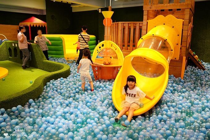 新竹湖口室內親子景點【大房子親子成長空間】溜滑梯大球池×戶外沙坑賽車場×好玩DIY(親子餐廳)