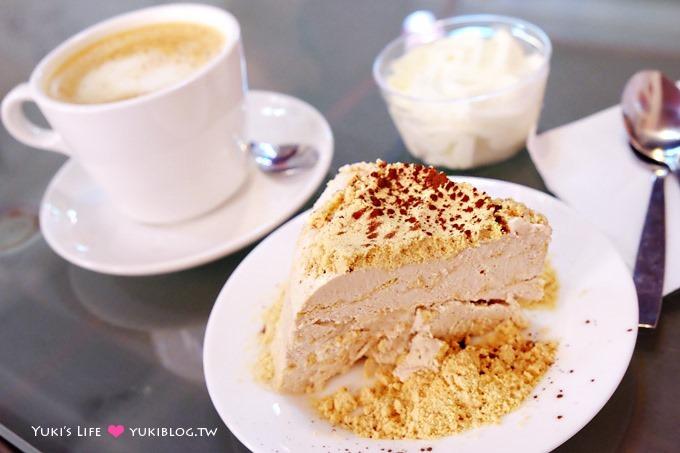澳门自由行【必达士Bitter Sweet】在地美食甜点!饼干屑加奶油冰淇淋蛋糕❤ 官也街 - yukiblog.tw