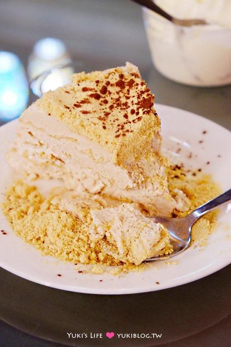 澳門自由行【必達士Bitter Sweet】在地美食甜點!餅乾屑加奶油冰淇淋蛋糕❤ 官也街