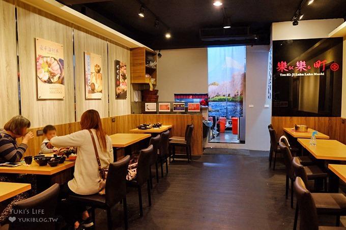 新莊美食新開幕【築地樂樂町】來一碗什麼都有的町町丼×排隊人氣餐廳(新莊運動公園附近美食) - yukiblog.tw