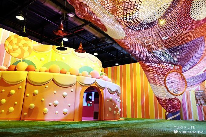 台北士林科教館【魔法屋特展】巨型蛋糕屋×薑餅屋×南瓜城堡屋×巧克力夢幻屋~用科技實現夢想樂園