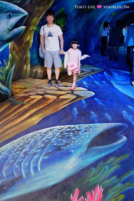 宜兰新景点【祝大渔物产文创馆】360度3D鱼龙卷立体海洋隧道+阿帕契彩绘亲子游@南方澳 - yukiblog.tw