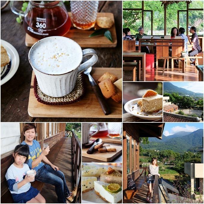 淡水好拍咖啡廳【石牆仔內自家烘焙咖啡】日式氛圍景觀下午茶×結合三合院鄉土料理(親子景點)