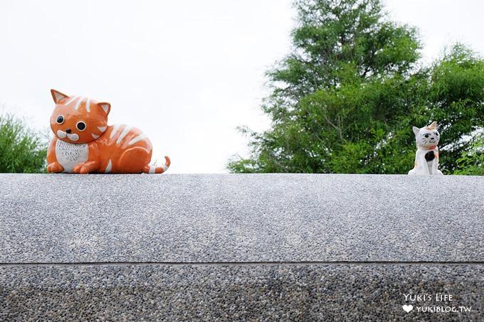 落羽松好拍可愛景點》板陶窯園區×大貓咪車站吸睛程度破表×拍不完的繽紛馬賽克雕塑園區 - yukiblog.tw