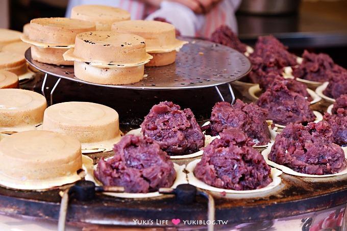 台北東區【晴光紅豆餅】爆多料的好吃車輪餅~~好美味喔! @忠孝復興站 - yukiblog.tw
