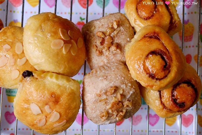 新手烘焙【五分鐘免揉麵包】NO3 菠蘿麵包、奶酥麵包 ...
