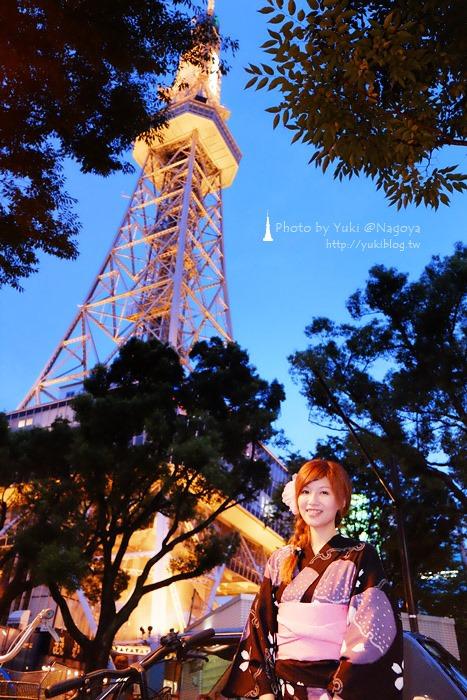日本‧名古屋┃電視塔下啤酒花園BEER GARDEN‧浴衣初體驗+燒肉吃到飽~超級浪漫呀!