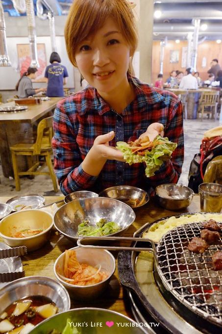韩国首尔自由行【姜虎东屠夫烤肉】一边烧肉一边烘蛋!! @明洞 - yukiblog.tw