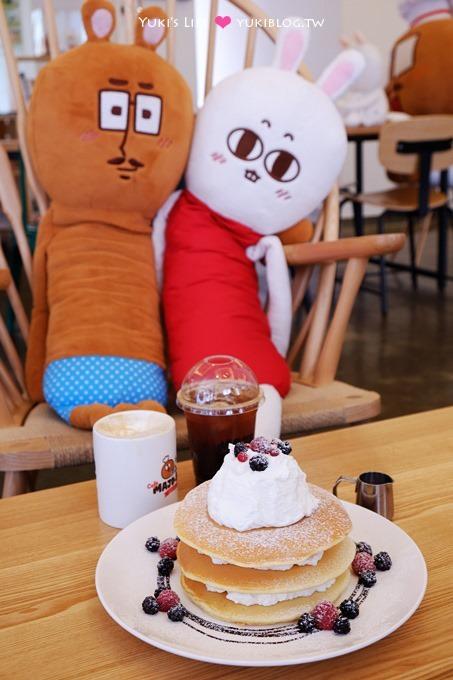 韓國首爾自由行【MAJO&SADY Cafe】可愛主題餐廳.疊疊樂鬆餅好吃! @清潭洞 - yukiblog.tw