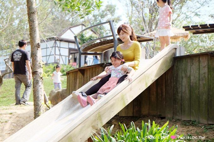 苗栗景點【Vilavilla魔法莊園】童話樹屋沙坑.歐式鄉村風景觀餐廳