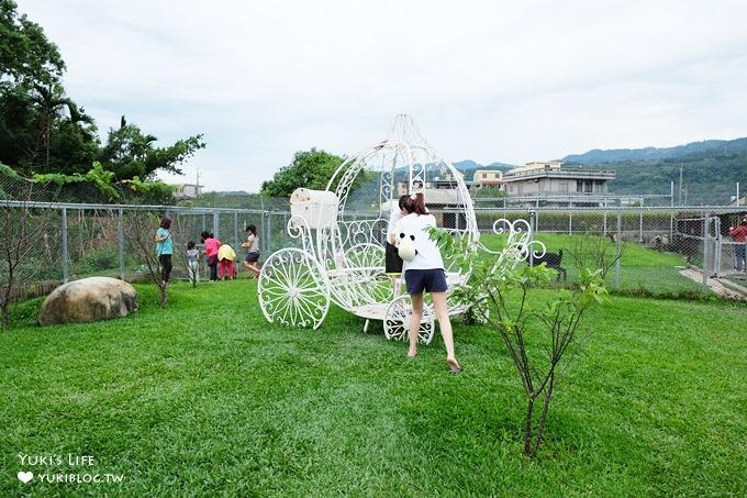 苗栗景點【棗莊古藝庭園膳坊】小型農場概念親子景點×玩沙好去處×還有咖啡吧 - yukiblog.tw