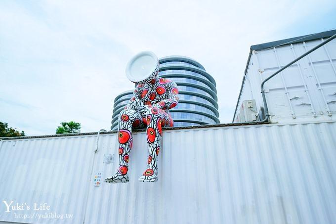 台中景点【台中软件园区/Dali Art艺术广场】免费亲子景点×好拍艺术装置×东湖公园野餐玩耍去~ - yukiblog.tw