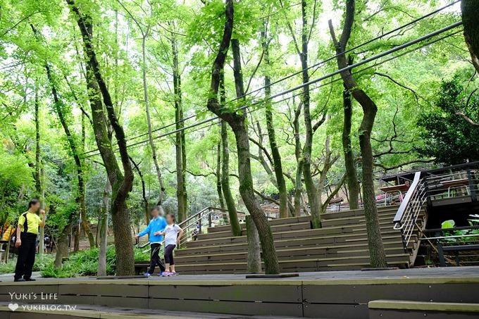 桃園景點【貓頭鷹奧爾森林學堂】虎頭山森林步道新亮點×超多溜滑梯×樹屋故事時間~免費野餐親子景點 - yukiblog.tw