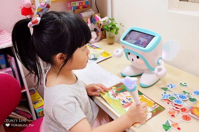 伴兒神器【波提學園兒童學習機器人nuriAtti】英文互動式遊戲好朋友×爸媽的親子小幫手