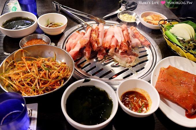 韓國首爾明洞美食【新村食堂새마을식당】價錢合理韓式燒肉(明洞站6號出口) - yukiblog.tw