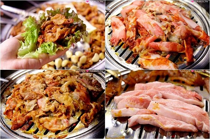 韓國首爾明洞美食【新村食堂새마을식당】價錢合理韓式燒肉(明洞站6號出口)