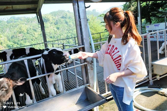 小孩超喜歡!CP值高!↬獨角仙休閒農場親子好去處×野餐×餵小牛×草泥馬超多動物