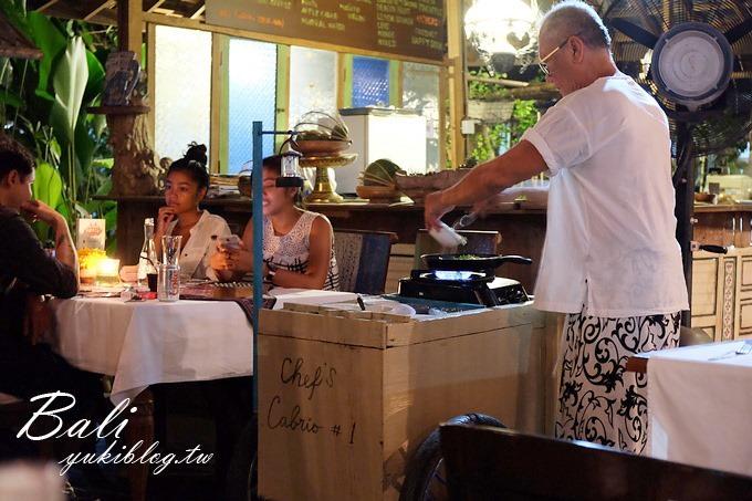 巴里岛/峇里岛美食【田野间名厨餐厅】桌边海鲜料理×地道印尼风味餐 - yukiblog.tw