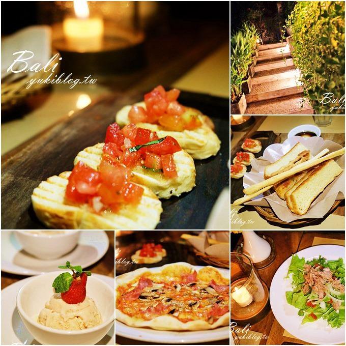 巴里島/峇里島金巴蘭美食【PEPeNERO Cucina Italiana】開放式浪漫燭光晚餐×熱門義大利餐廳