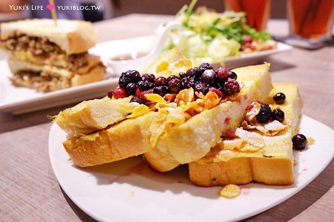 新莊【豐滿咖啡早午餐新莊店】特大份量國王餐.板橋早午餐新開幕分店不用排隊 - yukiblog.tw