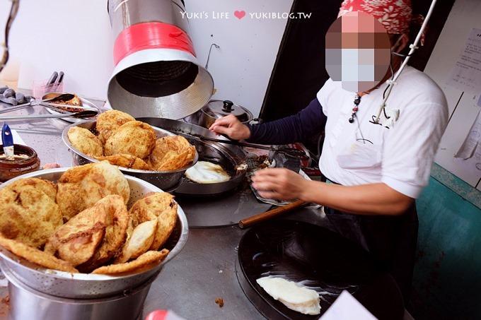 花蓮美食┃炸蛋蔥油餅(正宗黃色發財車) &花蓮JOE石板香腸 ~ 精選小吃 - yukiblog.tw