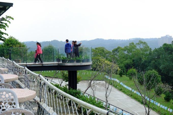 新竹景點【101高山頂景觀餐廳】環狀透明觀景台IG美拍點×青草湖夜景餐廳 - yukiblog.tw