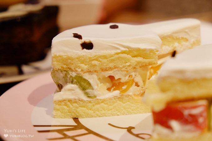 板橋火車站大遠百美食【阿朗基咖啡廳】日式風格主題塌塌米座位適合帶小孩吃蛋糕!一起尖叫吧! - yukiblog.tw