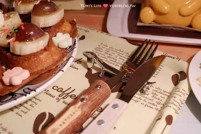 板橋【Petit Tuz小兔子鄉村輕食雜貨鋪】完勝級鄉村風老宅低調咖啡館、僅提供輕食鬆餅飲料 - yukiblog.tw