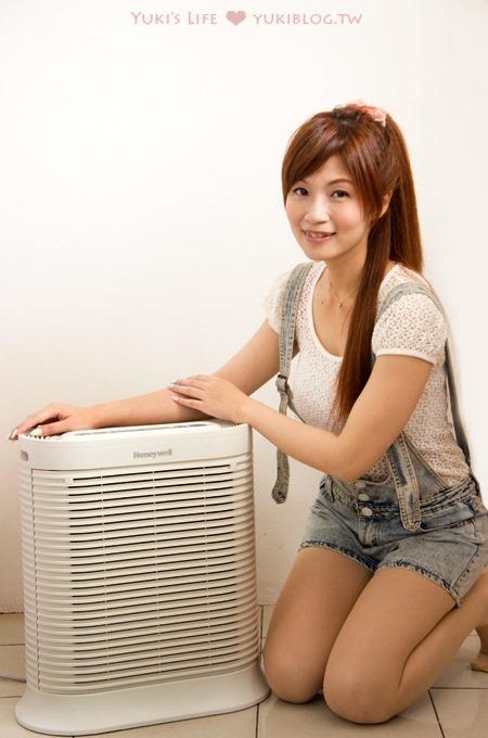 居家開箱文【美國Honeywell空氣清淨機】還我房內清新舒適的空氣~太棒了! (Console抗敏系列)