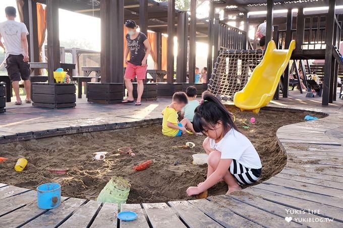 桃園新屋景觀餐廳【3號咖啡】峇里島庭院大草皮×溜滑梯沙坑親子寵物餐廳