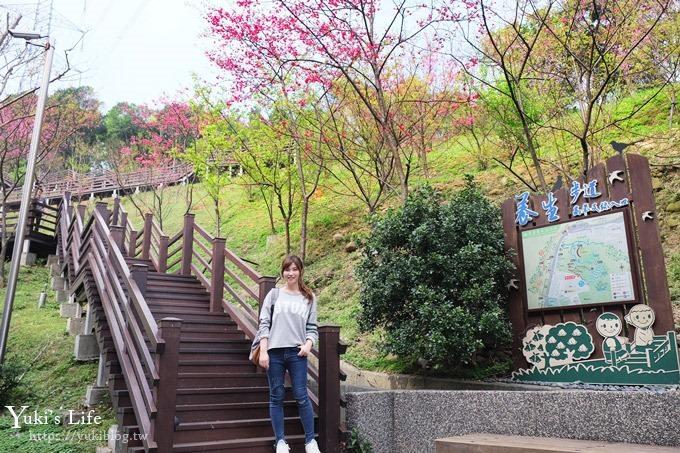 桃園秘境》粉紅隧道大沙坑×賞櫻木棧道(野餐、室內游泳池親子景點) - yukiblog.tw