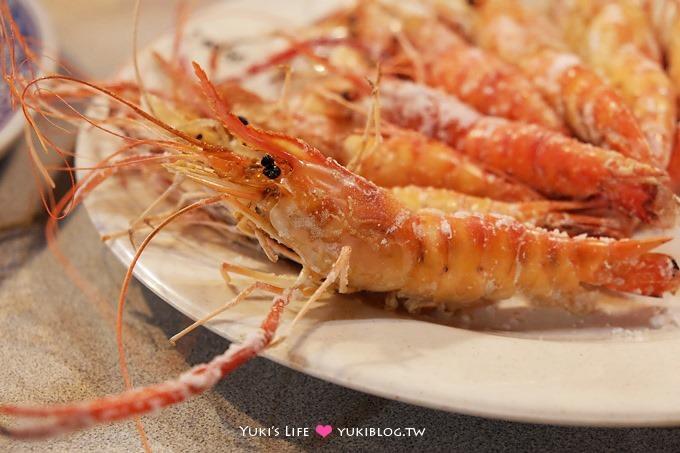 新莊美食【黃金海岸活蝦之家】蝦子大餐、聚餐去處 @迴龍站