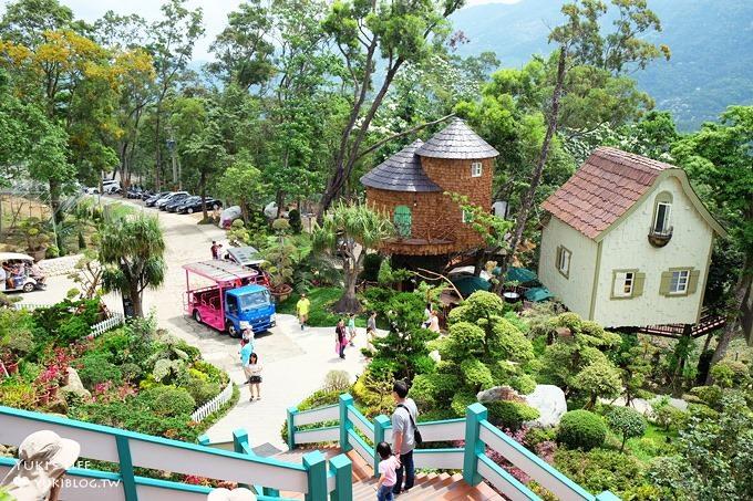 苗栗南庄親子景點【Sud Vista 蘇維拉莊園】童話屋森林景觀餐廳×兒童玩沙池