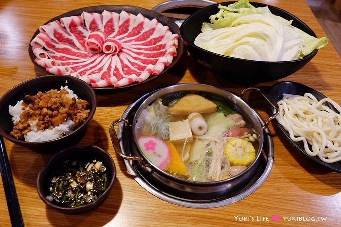 新莊美食【禾屋日式涮涮鍋】隱藏於鴻金寶內的好吃平價火鍋、日式包廂好適合親子聚餐!