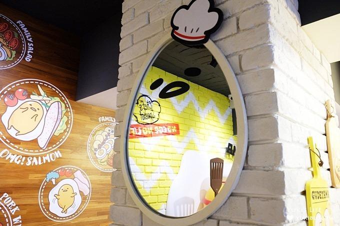 台北東區早午餐下午茶【蛋黃哥主題餐廳Gudetama Chef】主題明確佈景用心×滿滿發懶的氛圍(忠孝復興站美食) - yukiblog.tw